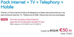 Découvrer tous les promotions Belgacom