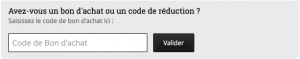 code de reduction emp