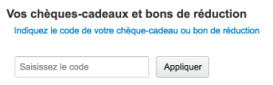 bon de réduction amazon