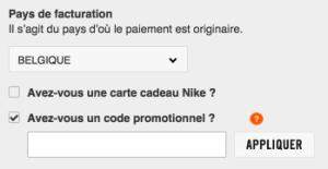 fr nike code promotionnel
