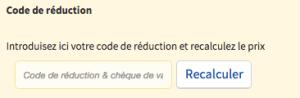 code de reduction neckermann