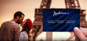 carte cadeau Radisson Blu