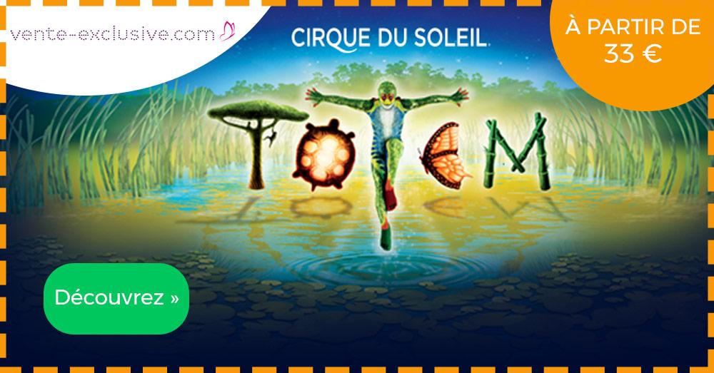 Cirque du Soleil - Vente Exclusive