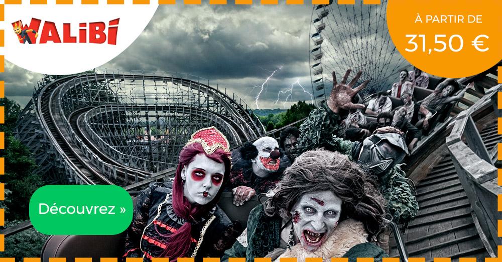 Halloween Walibi tickets