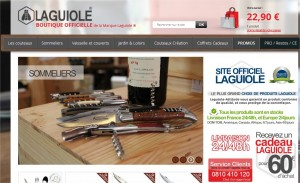 laguiole webshop